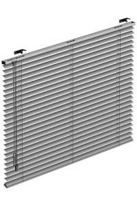 Horizontaljalousie aus Aluminium mit Schnurbedienug und Wendestab