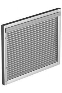 InLine Jalousie aus Aluminium mit Kettenbedienung für Fensterflügelmontage
