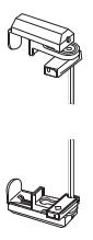 Klemmträger Montage TwinLine von MHZ