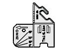 Montageschablone fpr Glasleistenmontage