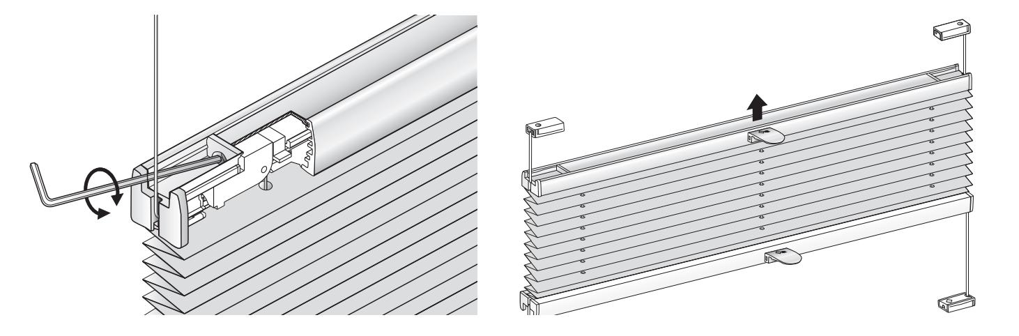 Plissee-Ausgeichvorrichtung von MHZ für große Fenster